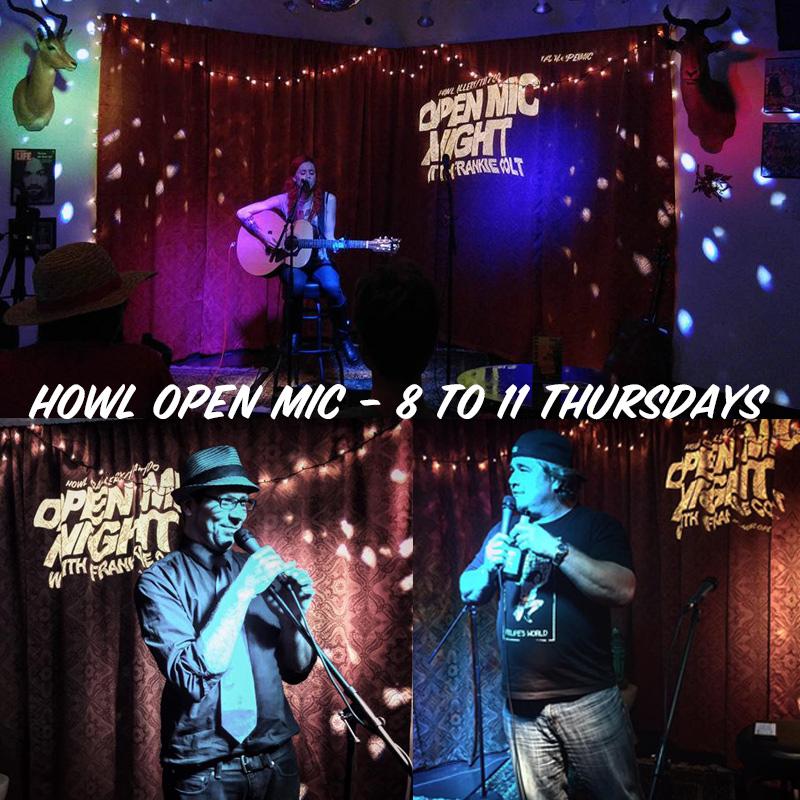 howl open mic